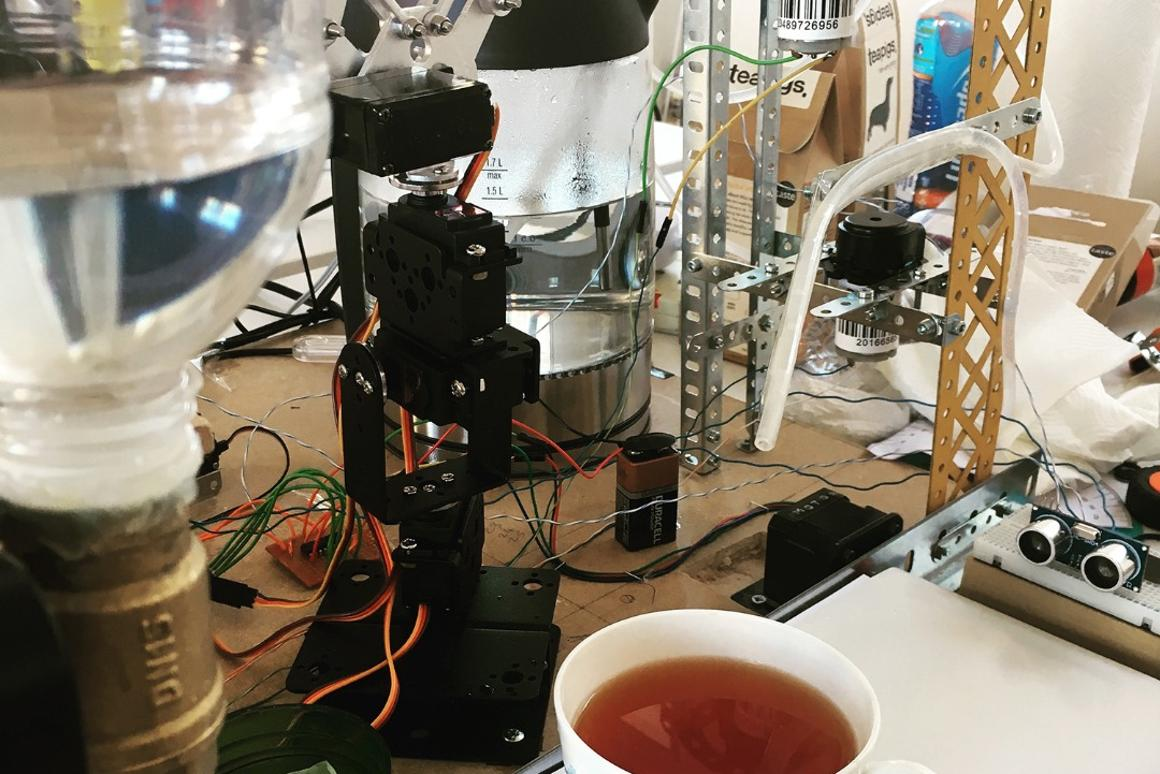 Old Nokia phone and Raspberry Pi chat to make perfect cup of tea