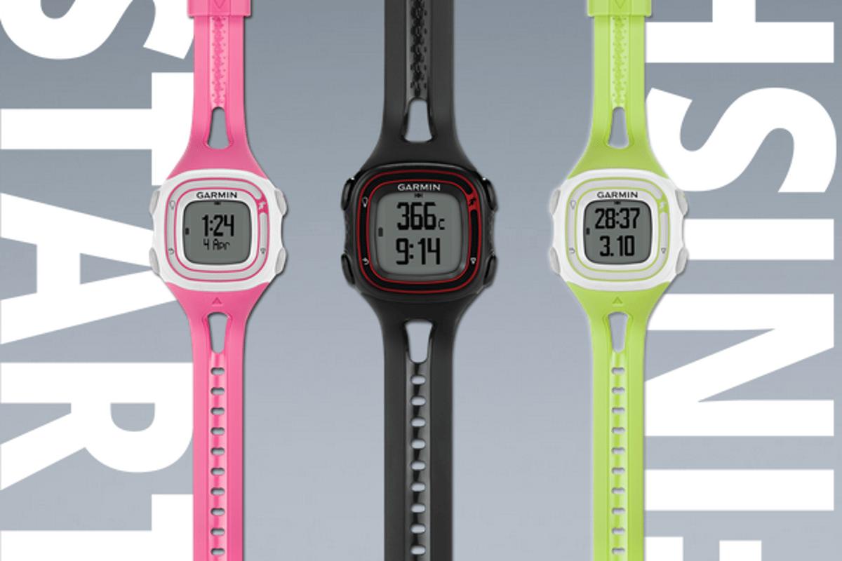 The Garmin Forerunner 10 is designed for runners