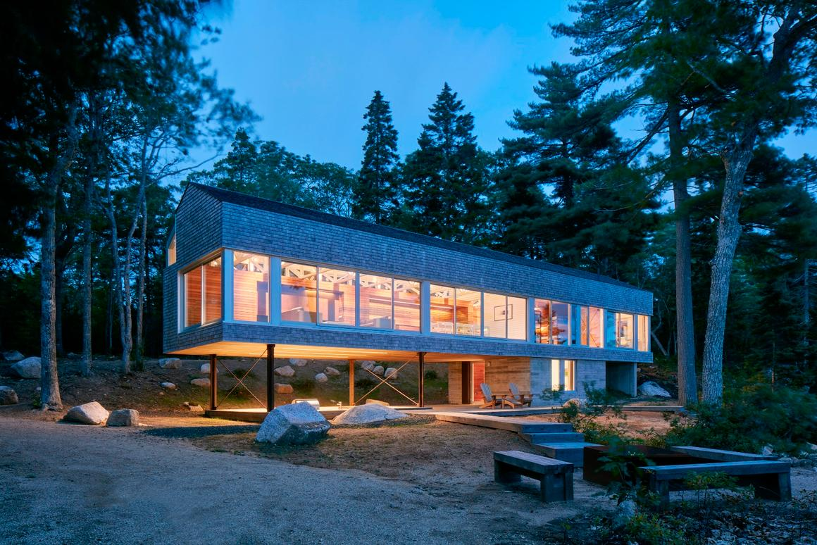 Mirror Point,byMacKay-Lyons Sweetapple Architects, is one of the dozen projects highlighted inAIA's 2019Housing Awards