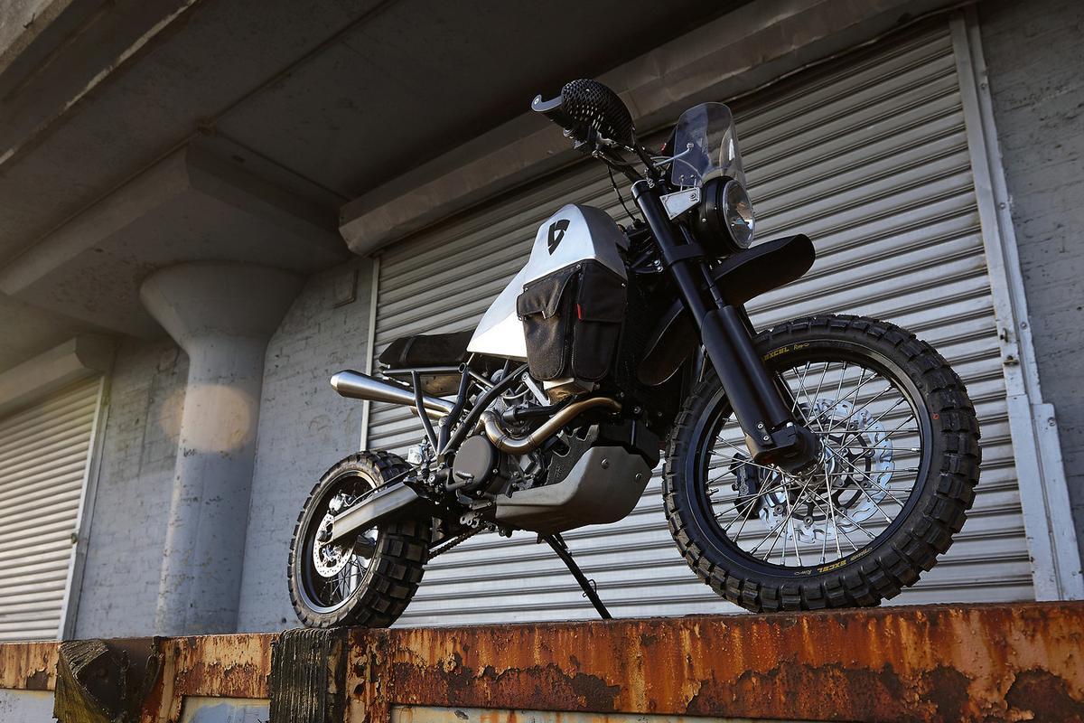 Revit #95 is a rugged no-boundaries adventure bike