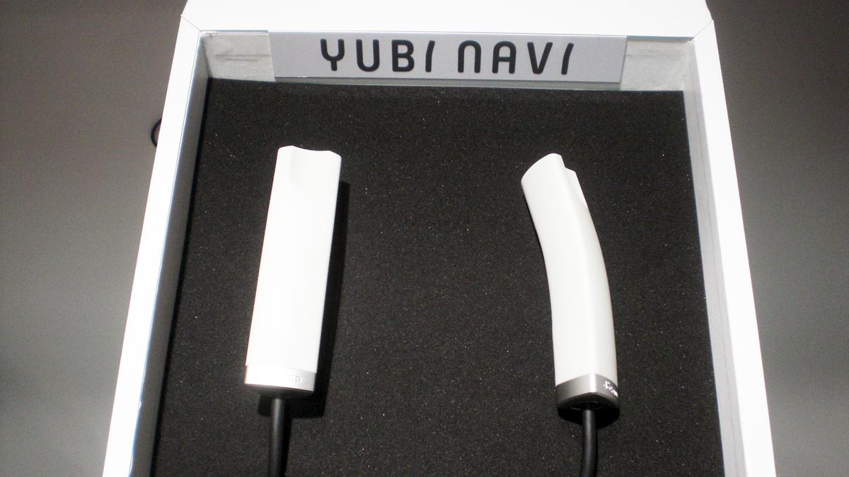 The Yubi Navi concept aims to make on-foot navigation more intuitive (Photo: Stephen Clemenger/Gizmag)