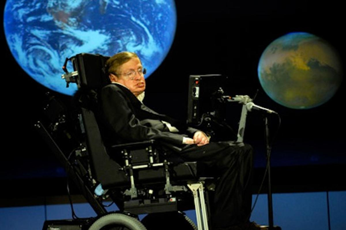 Professor Stephen Hawking (Photo Credit: NASA/Paul Alers)