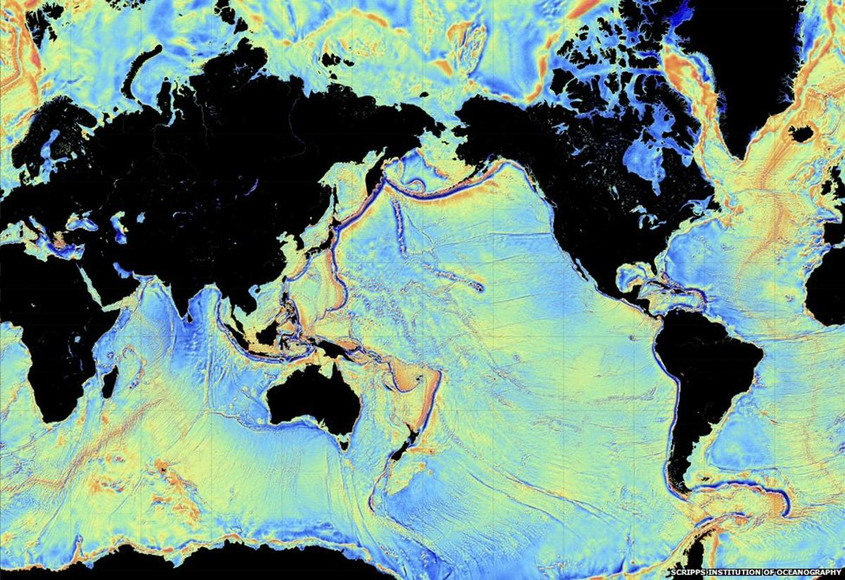 New map shows world's seafloor in