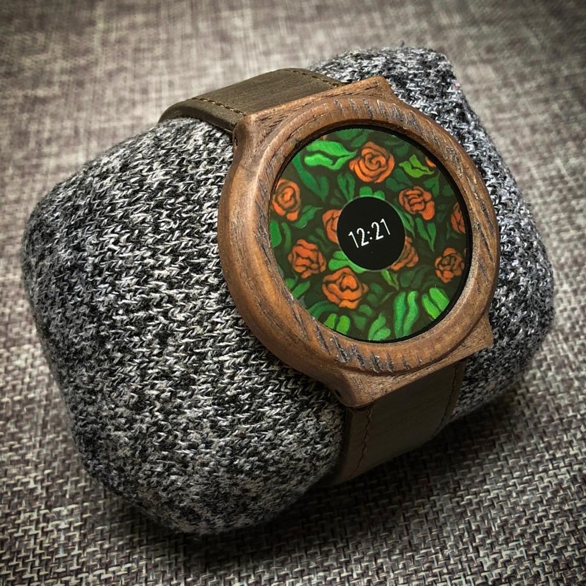 Samson March's DIY Smart Watch