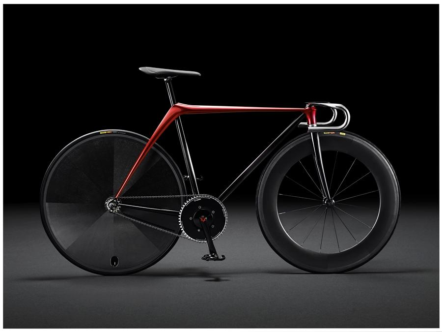 Mazda's Bike by Kodo concept is said to be a reimagining of the modern racing bicycle (Photo: Stefania D'Alessandro/Getty Images for Mazda Motor Co.)