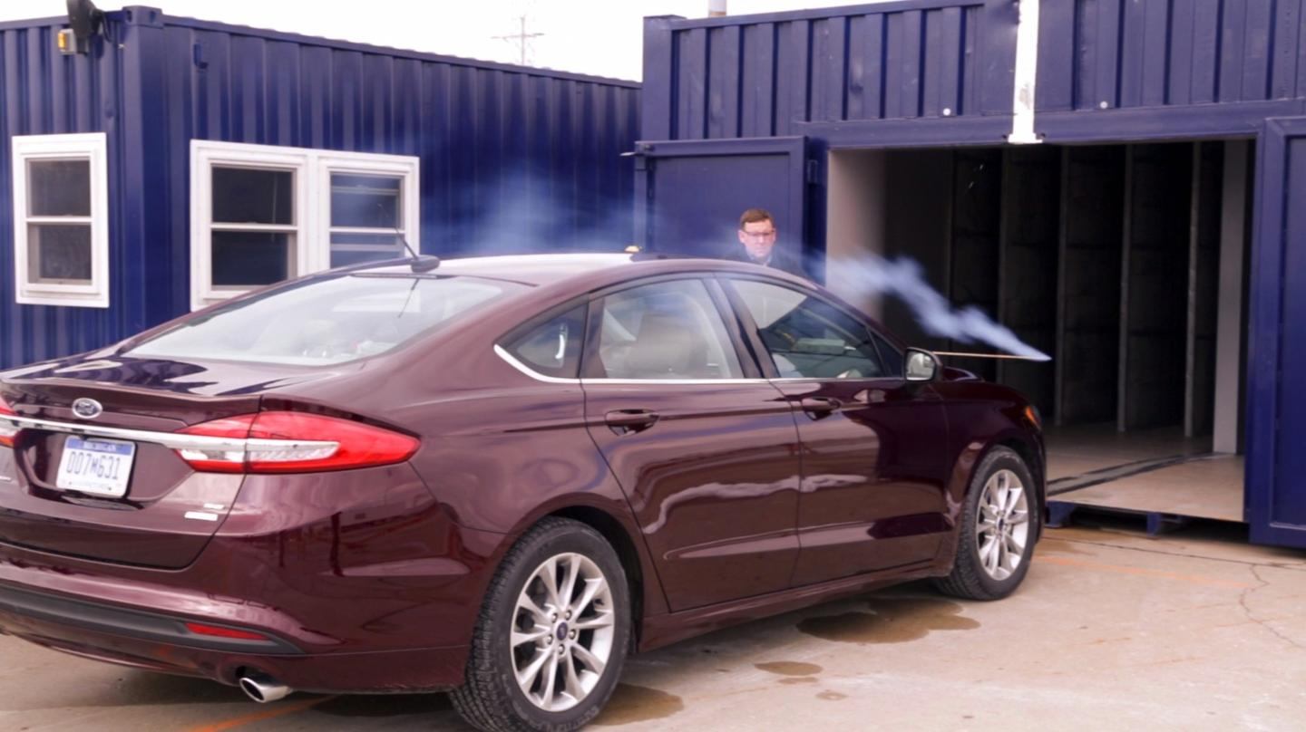 Ford's mobile wind tunnel will debut at Flat Rock in Michigan