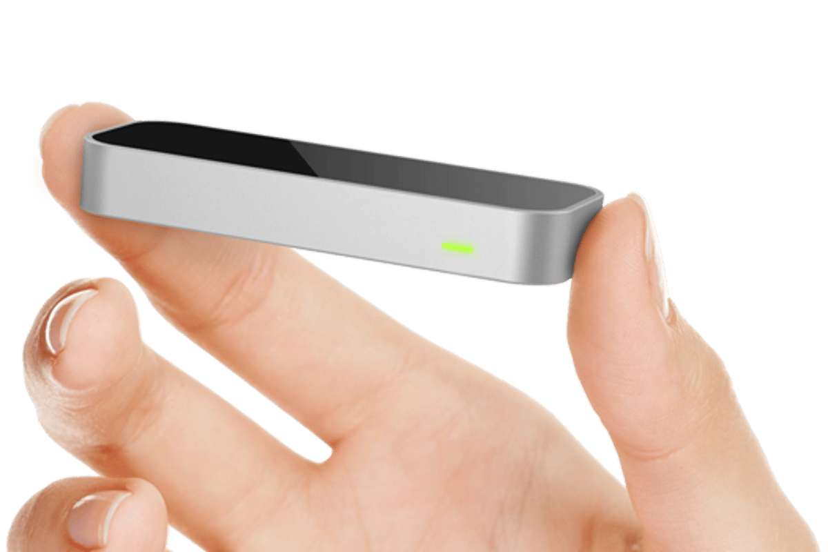 The Leap Motion controller that will be bundled with ASUS systems