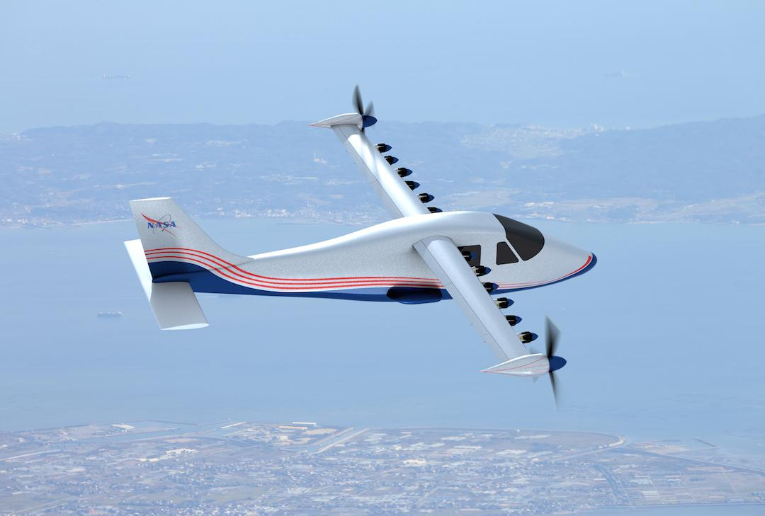 With 14 electric motors, the X-57 will run on battery power, eliminating localcarbon emissions andreducing operational costs andnoise pollution