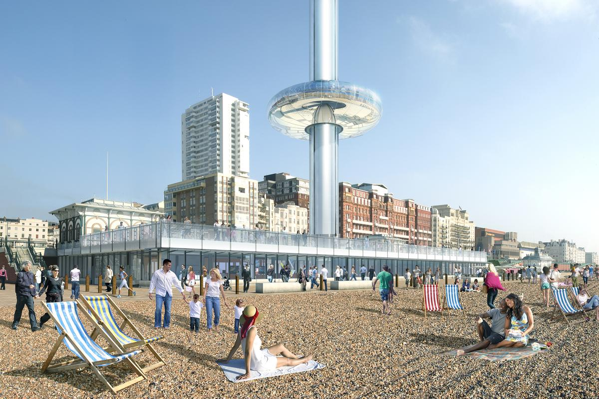 The Brighton i360, by architecture firm Marks Barfield