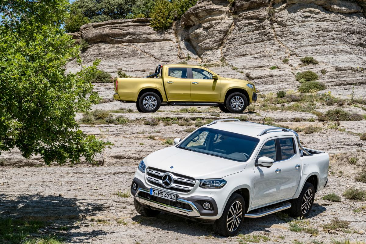 Mercedes debuts the all-new X-Class pickup truck