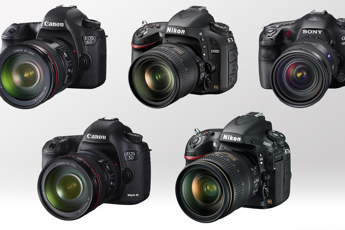 2013 Full Frame DSLR Comparison Guide