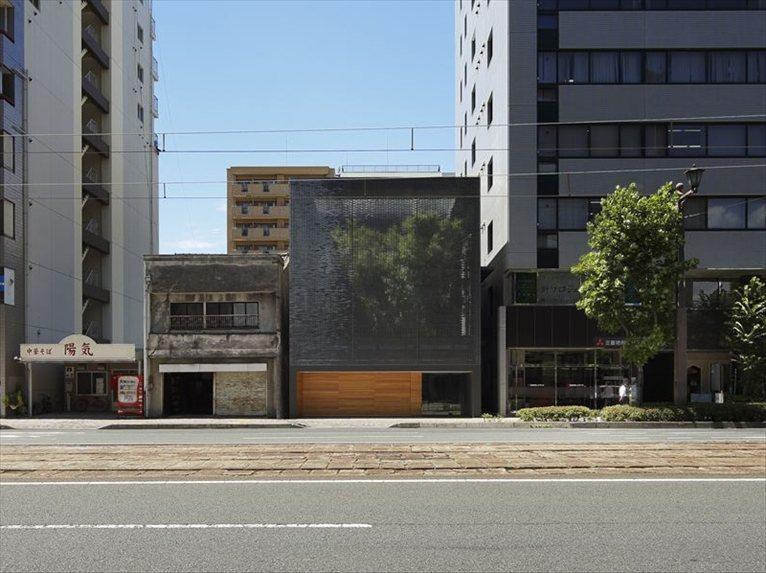 "Architecture studio Hiroshi Nakamura & NAP has designed the ""Optical Glass House"" in Hiroshima, Japan (Image: Hiroshi Nakamura & NAP)"