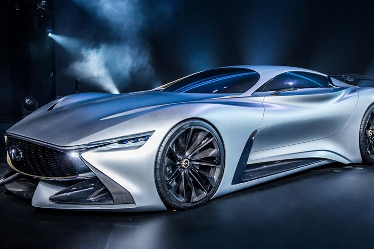 "Infiniti describes its Vision GT concept as ""part beauty, part beast"""