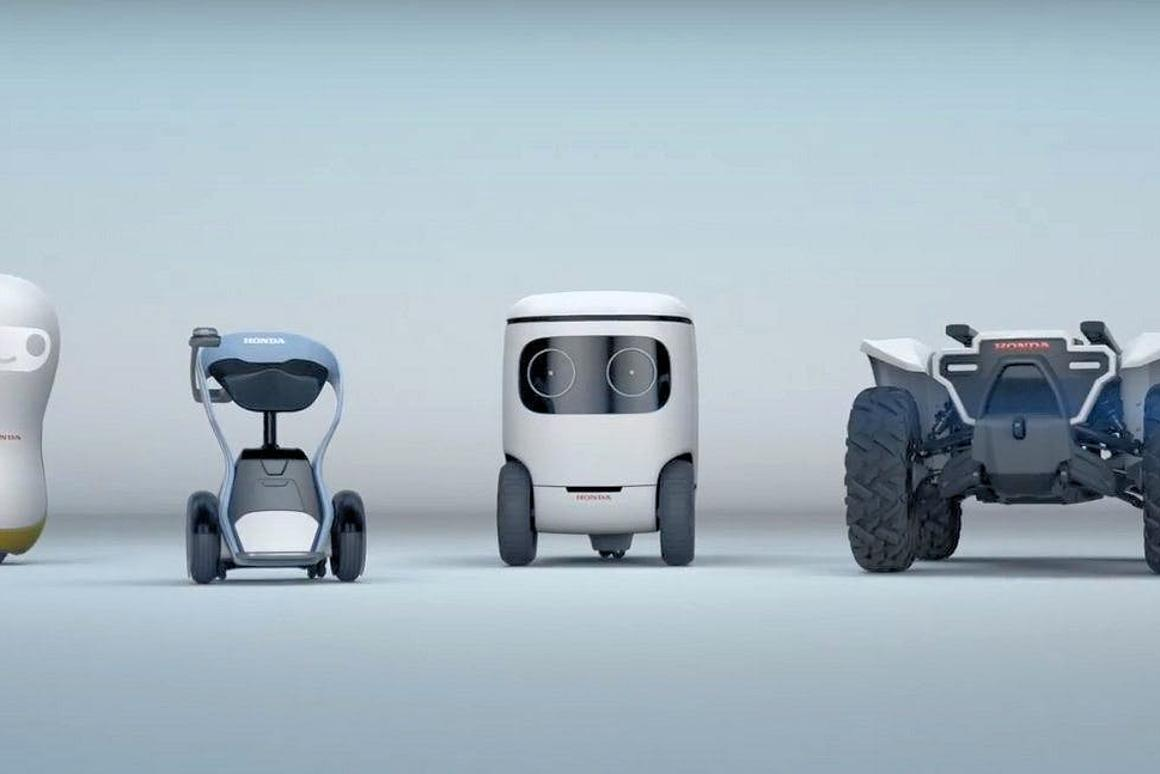 Honda's 3E Robotics Concepts have been revealed at CES 2018 in Las Vegas