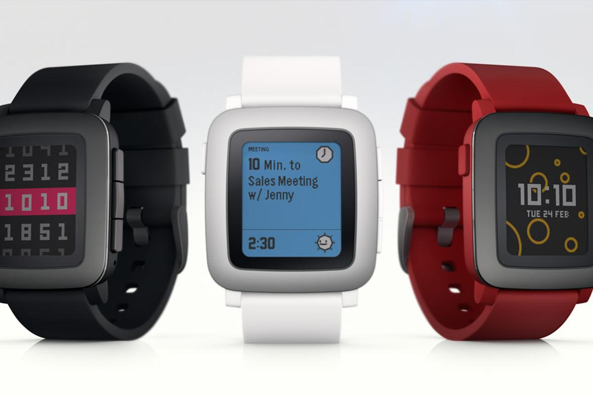 Pebble Time, which will be available in three colors, is the sequel to the original Pebble