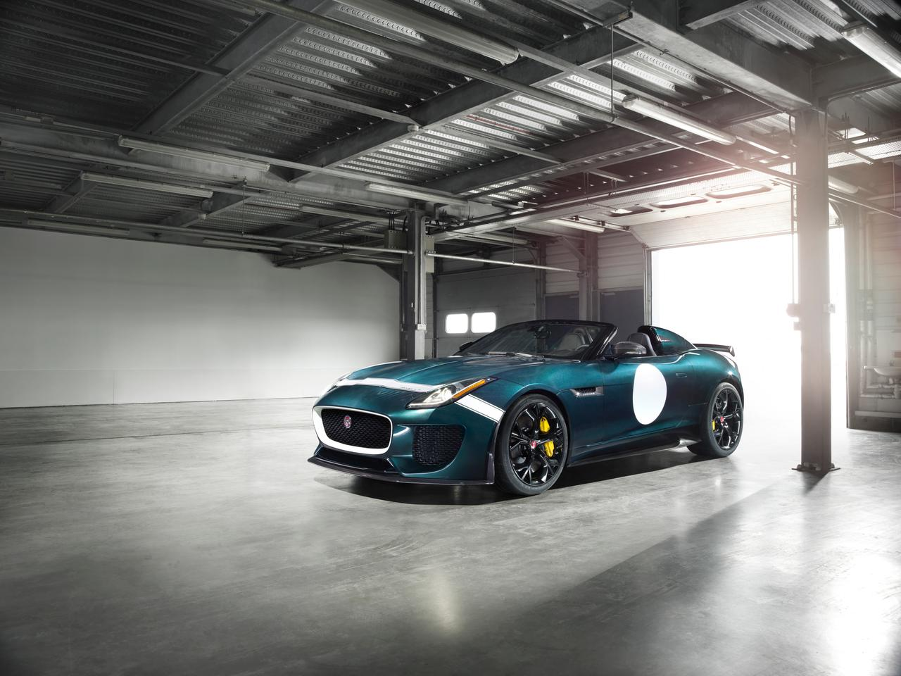 The Jaguar F-Type Project 7 is the production version of last year's concept