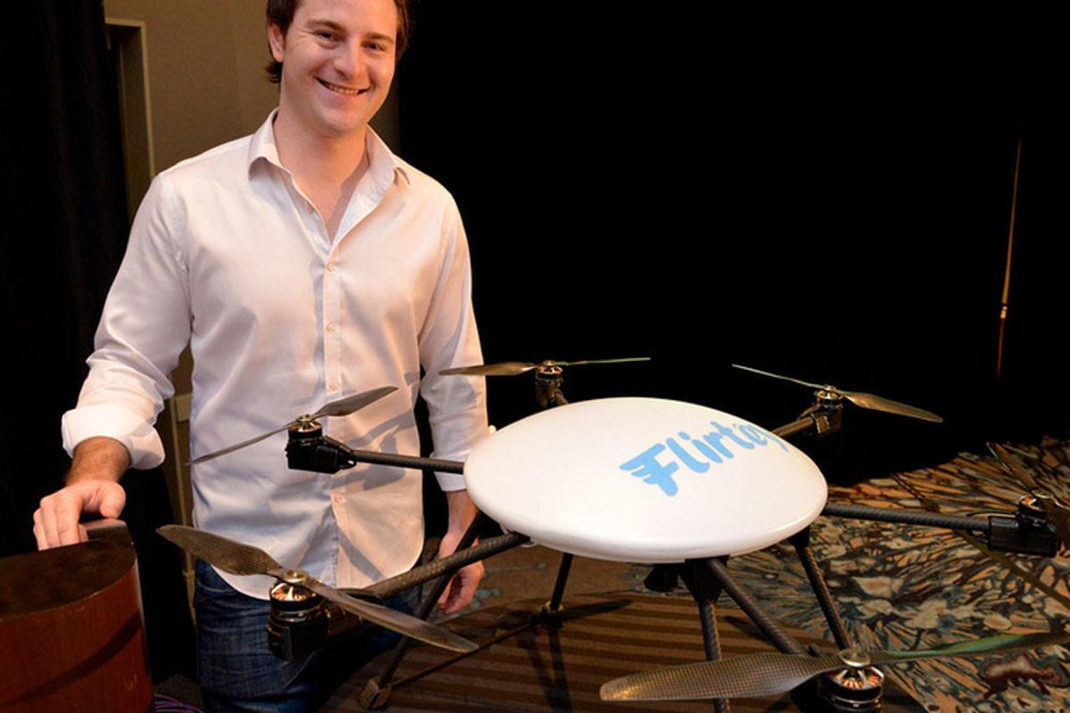 Drone delivery company Flirtey has announced plans to expand overseas