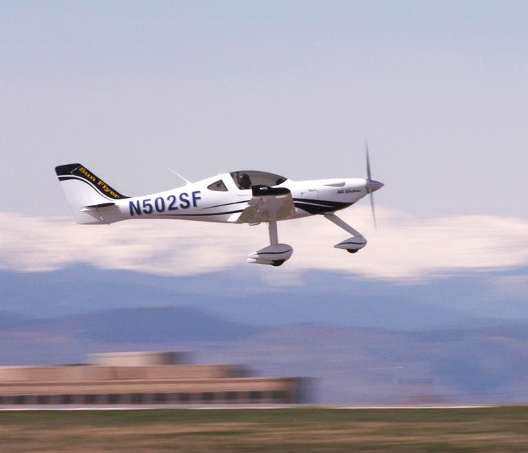 Sun Flyer 2 taking off on its maiden flight on April 10