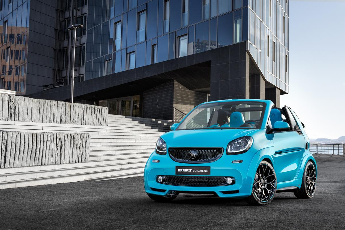 The new Brabus Exclusive 125 is a crazy, overpriced city car