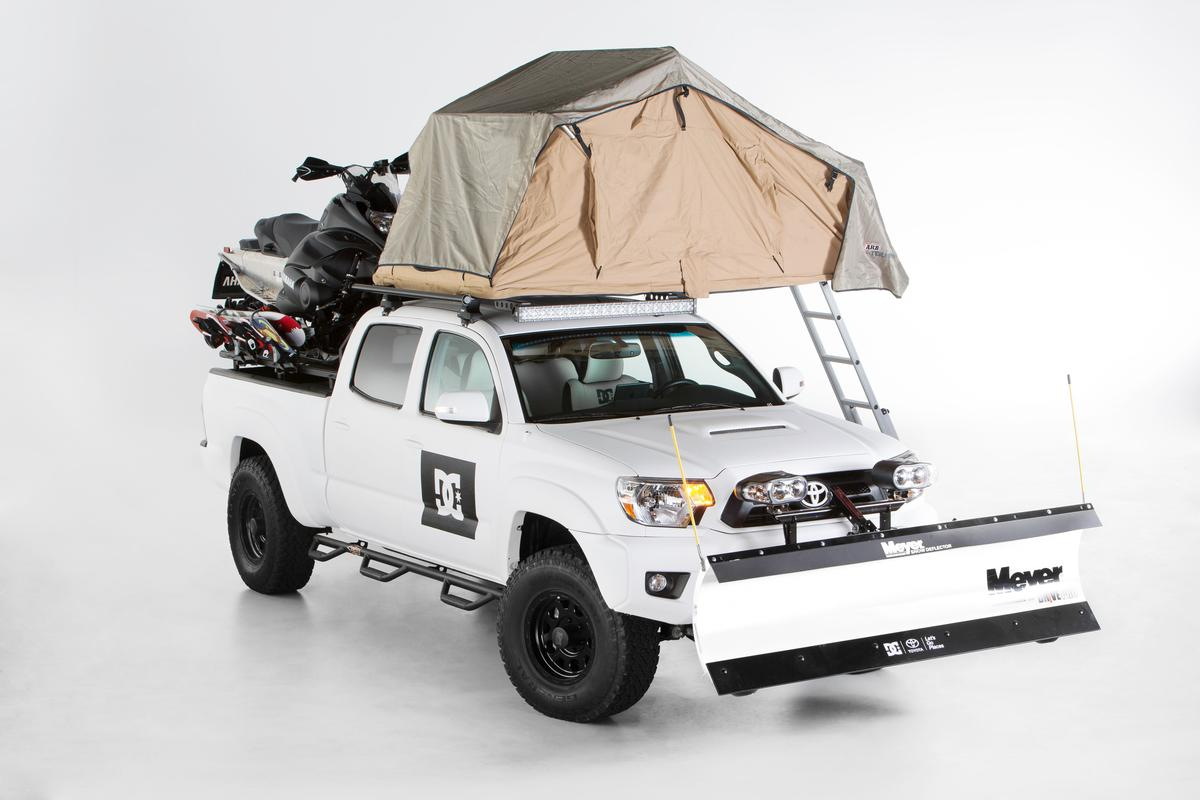 The DC Tacoma concept plows, hauls, sleeps and parties