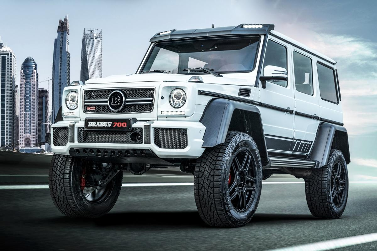 Brabus loves taking the extreme and using it as a starting point for the truly ludicrous