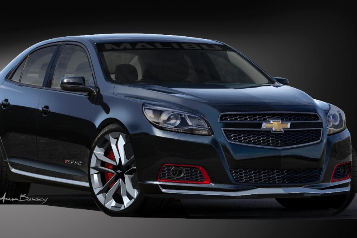 Chevrolet's Malibu Turbo Performance concept