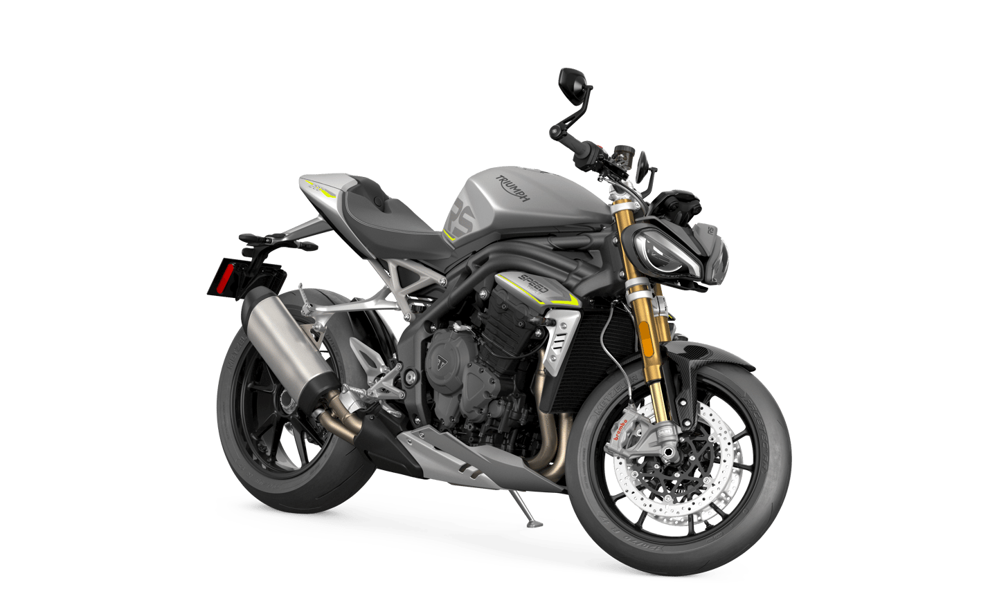 The 2021 Triumph Speed Triple RS remains instantly recognizable