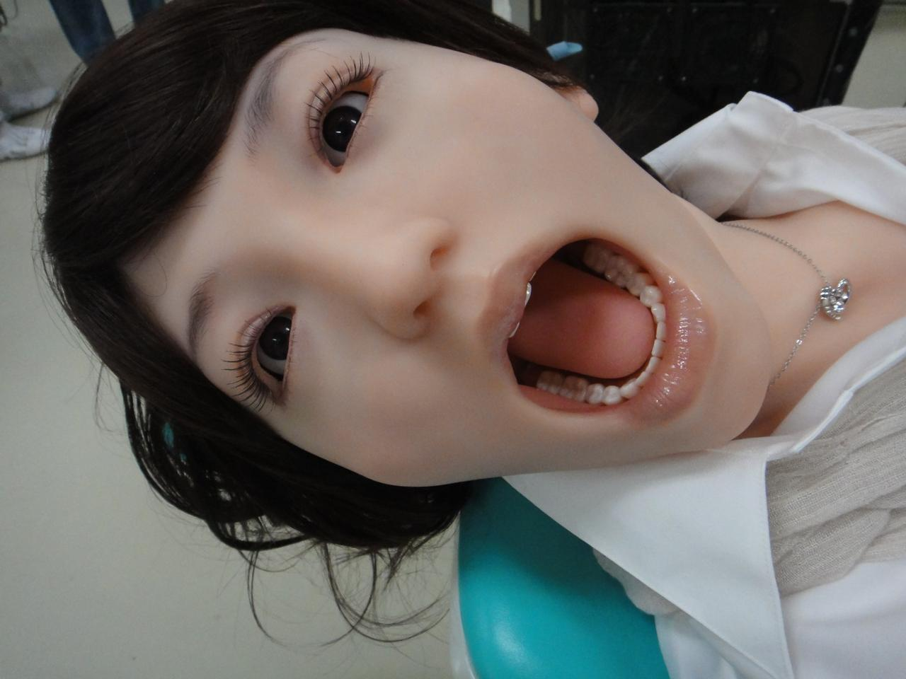 Showa University from Tokyo has presented a highly realistic robotic dental patient Showa Hanako 2 (Photo: DigInfo).