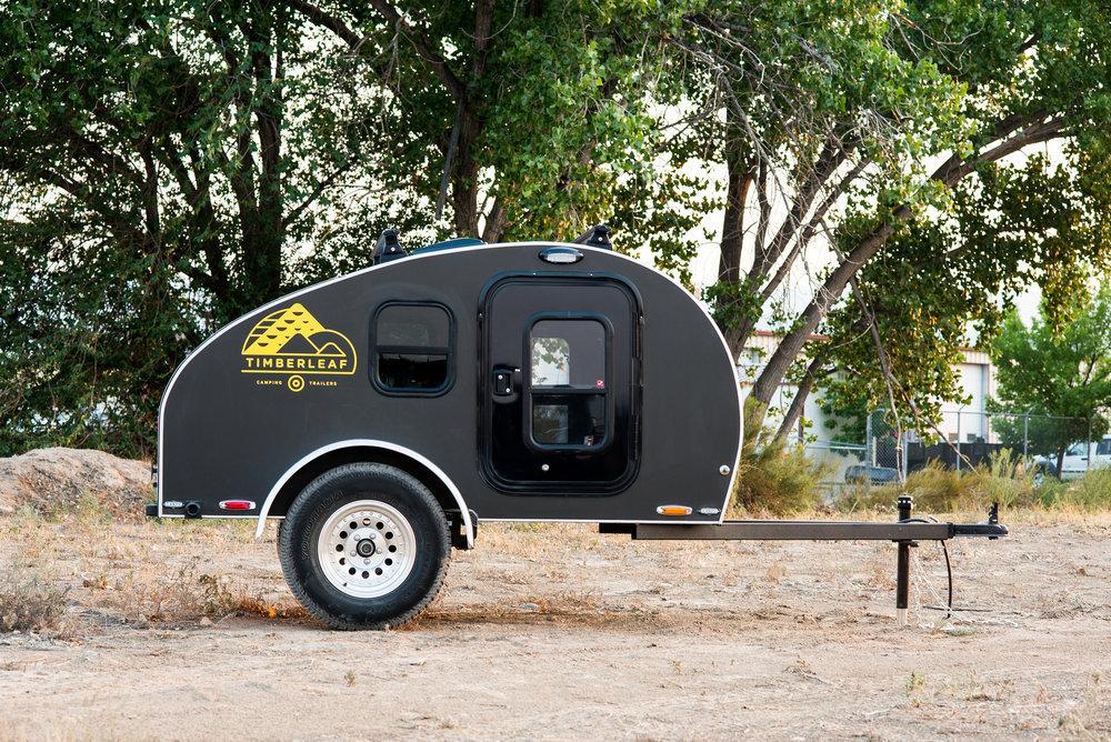 Timberleaf's new Pika trailer in All-Roadtrim