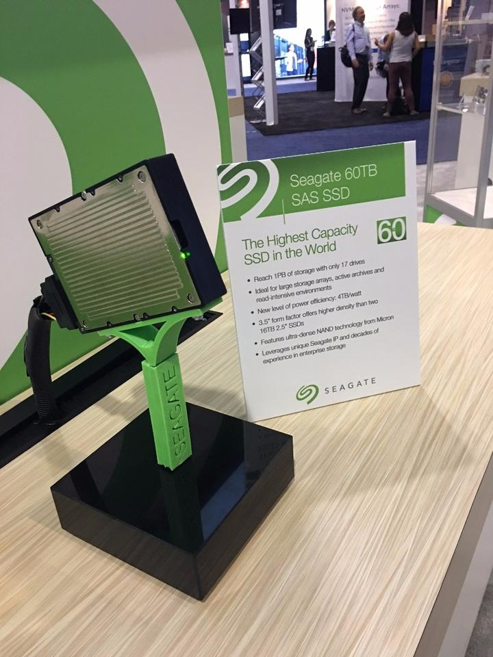 Seagate has rolled out the biggest SSDin the world