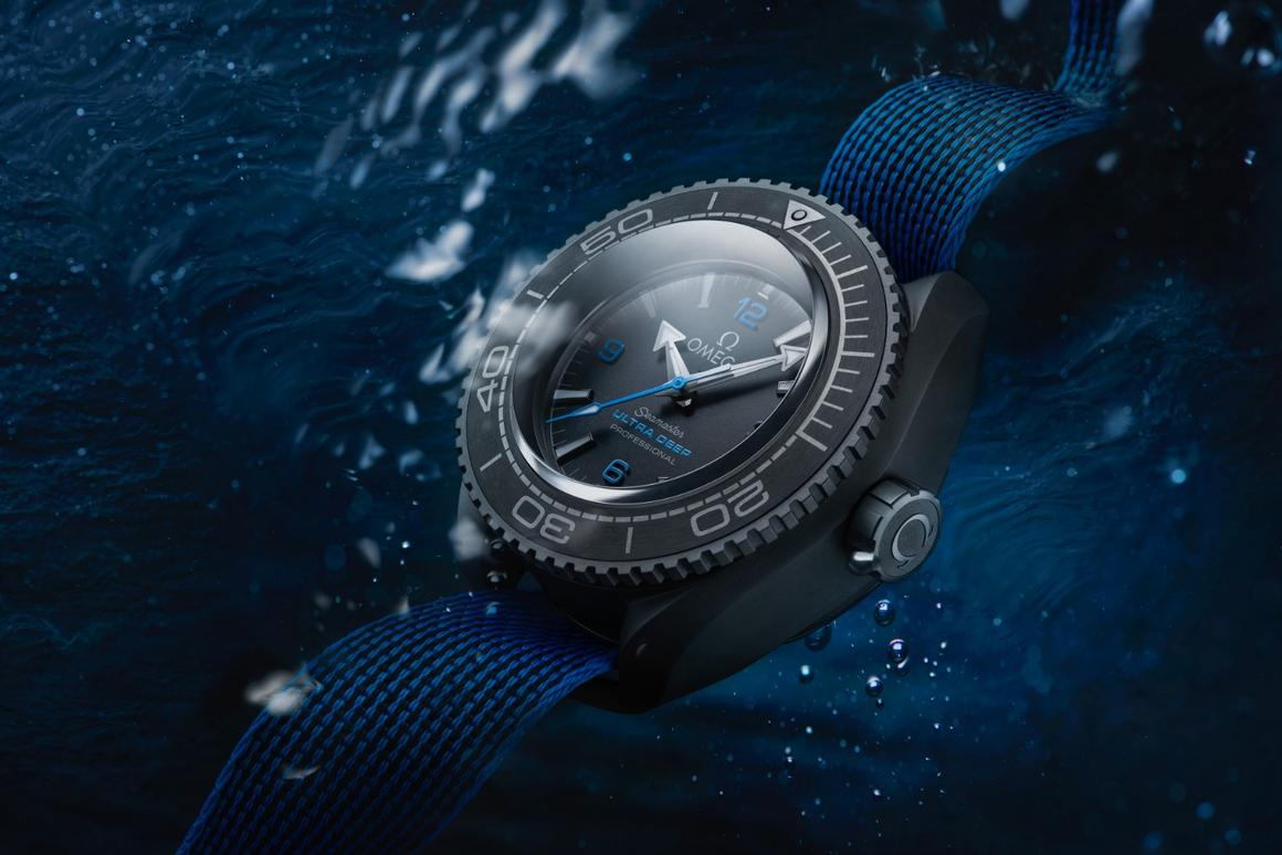 Omega Sets Record For The Deepest Diving Watch