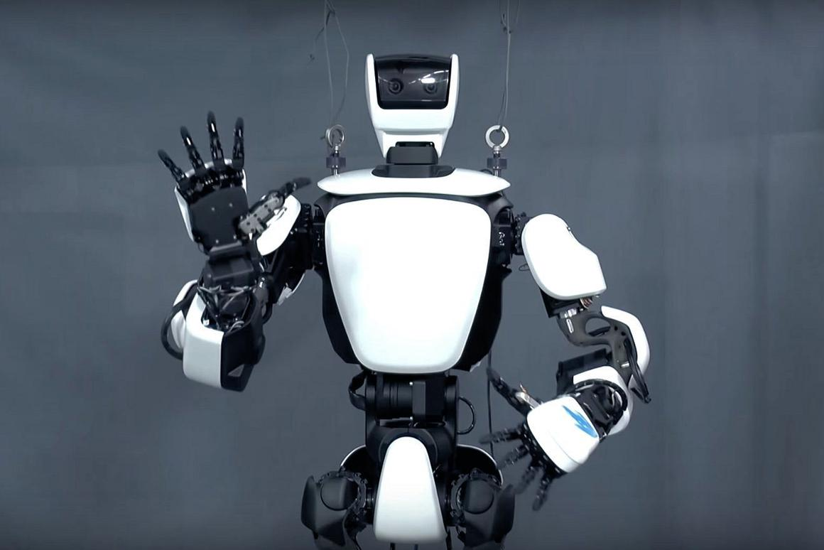 Say hello to Toyota's latest humanoid robot, the T-HR3