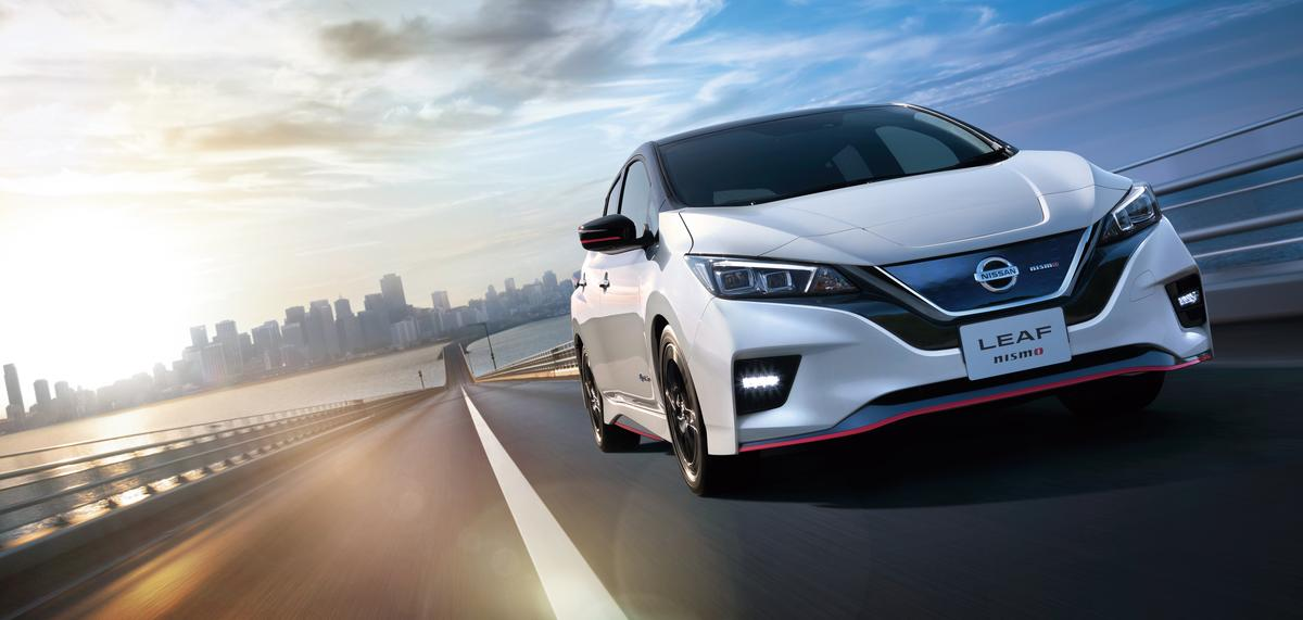 The Leaf Nismo will be available in nine colors including silver, two-tone black and dark grey