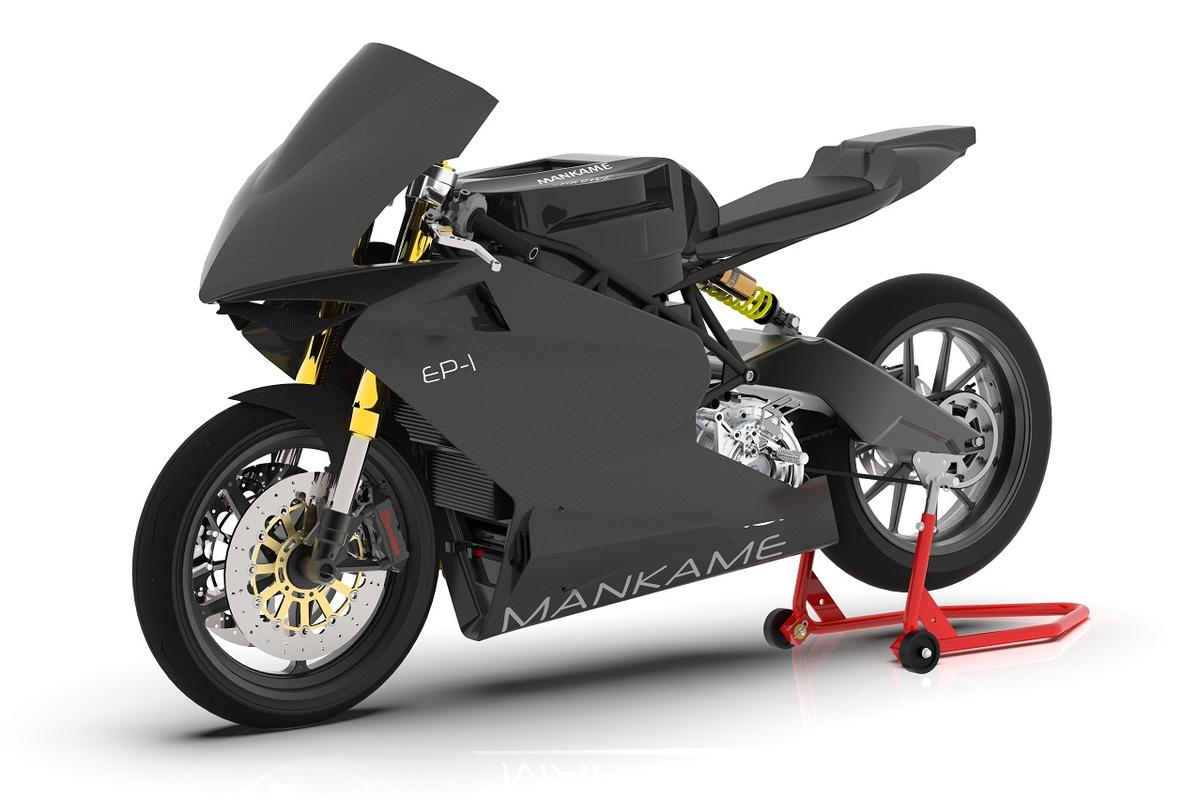 Mankame promises a big leap forward in range figures with the EP-1 electric sportbike
