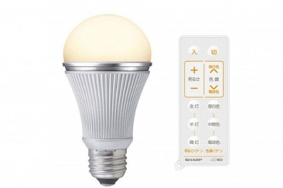 Sharp introduces color changing LED light bulbs on
