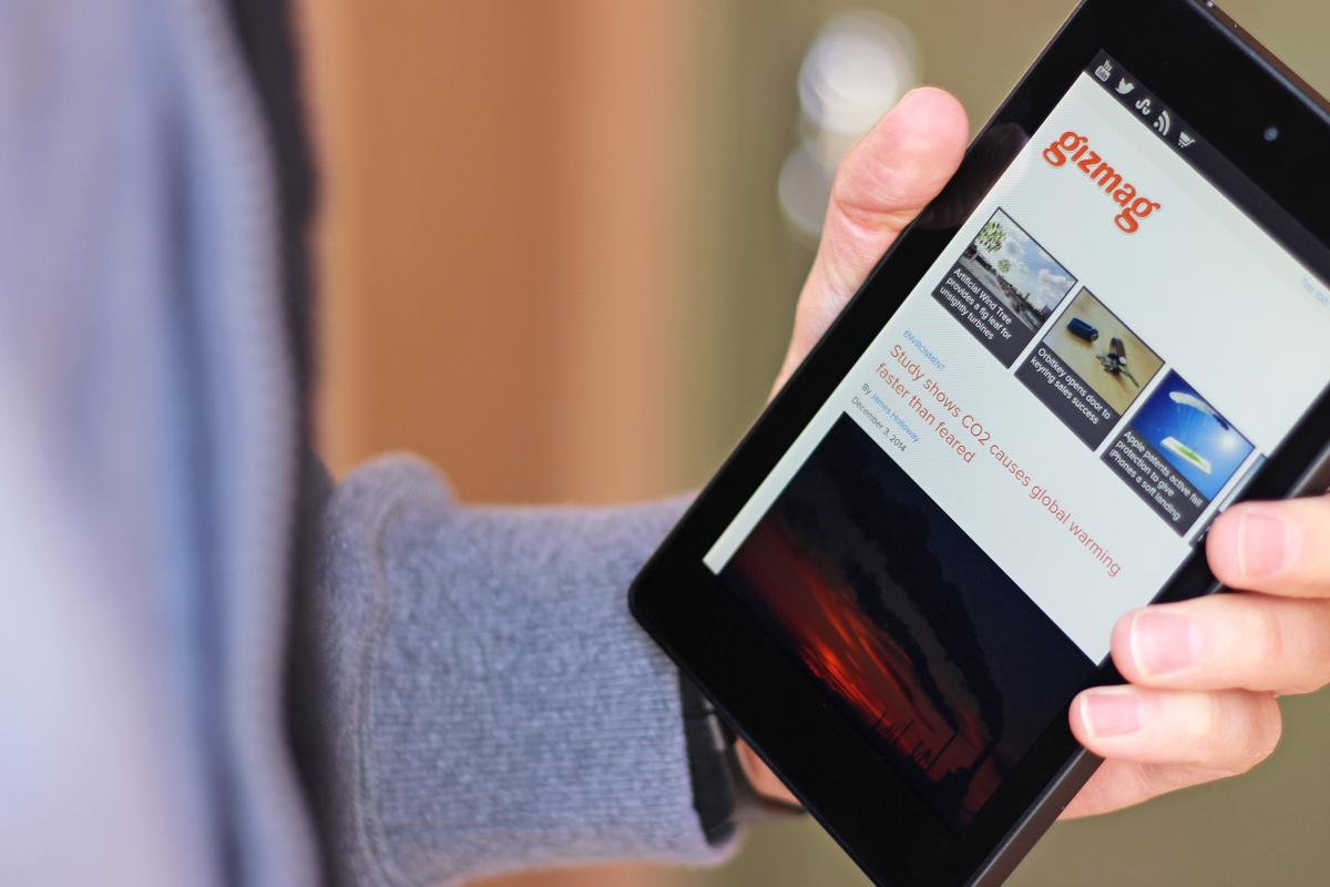 Gizmag reviews one of Amazon's most aggressively-priced products yet, the Fire HD 6 tablet (Photo: Will Shanklin/Gizmag.com)