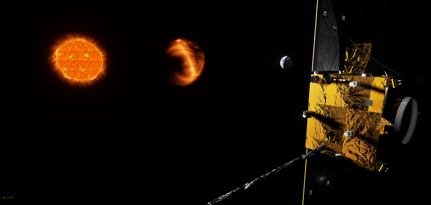 The Carrington-L5 mission gravitational balance point will allow the satellite to follow the Earth in its orbit around the Sun