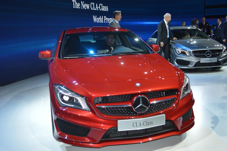 2014 Mercedes CLA-Class