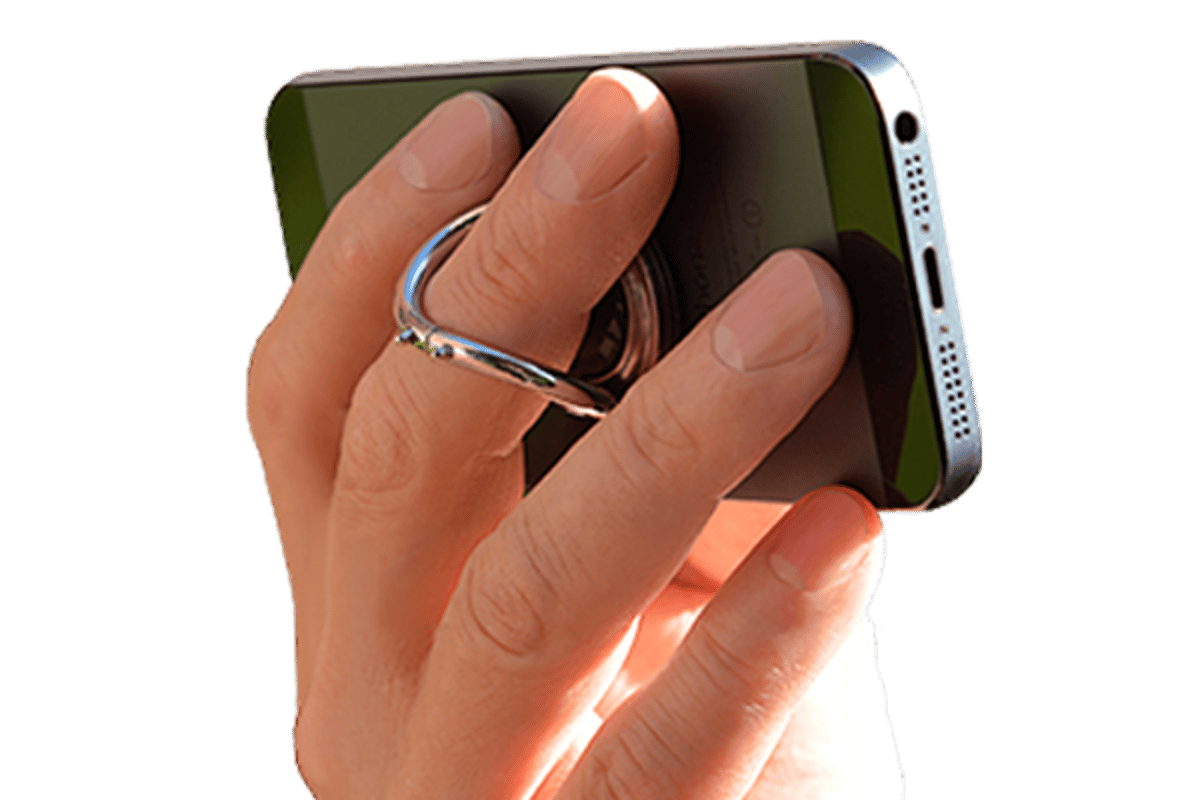 i-Ox aims to allow users to comfortably use their phone in landscape with one hand