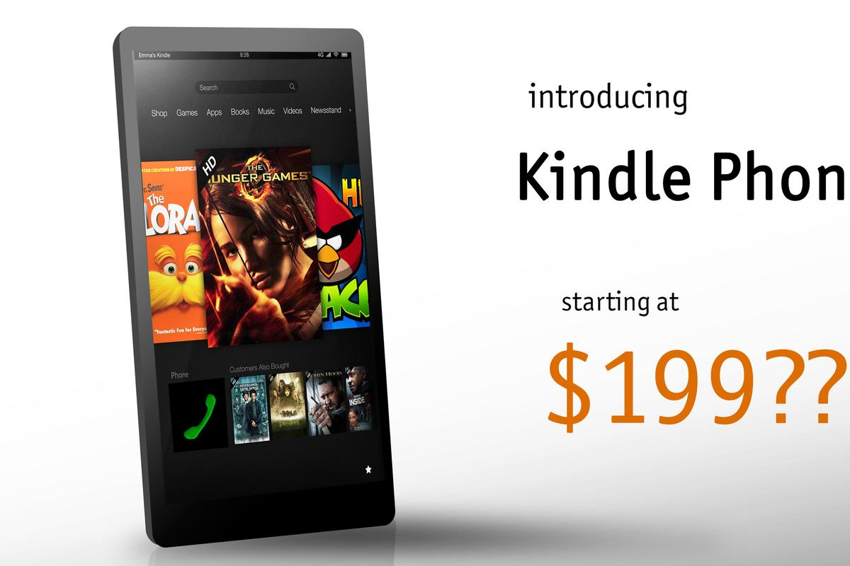 Amazon's rumored smartphone could potentially borrow elements from the Kindle Fire's interface
