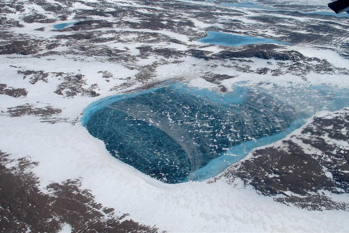 Melting Arctic ice could release toxic waste from an abandoned US military base, a new study says