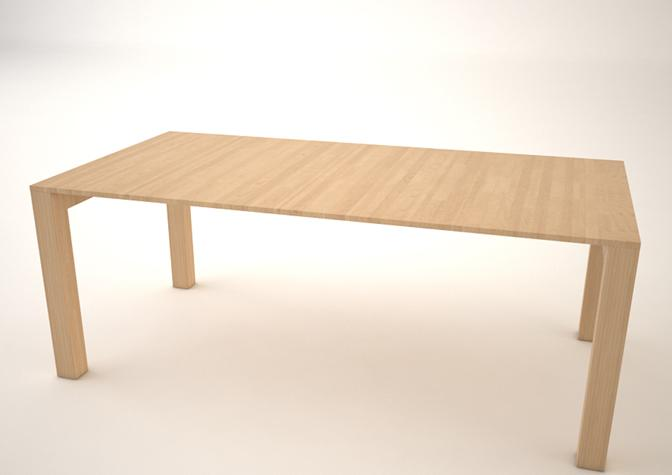 The table expands to 62 inches (157.5 cm) long when extended