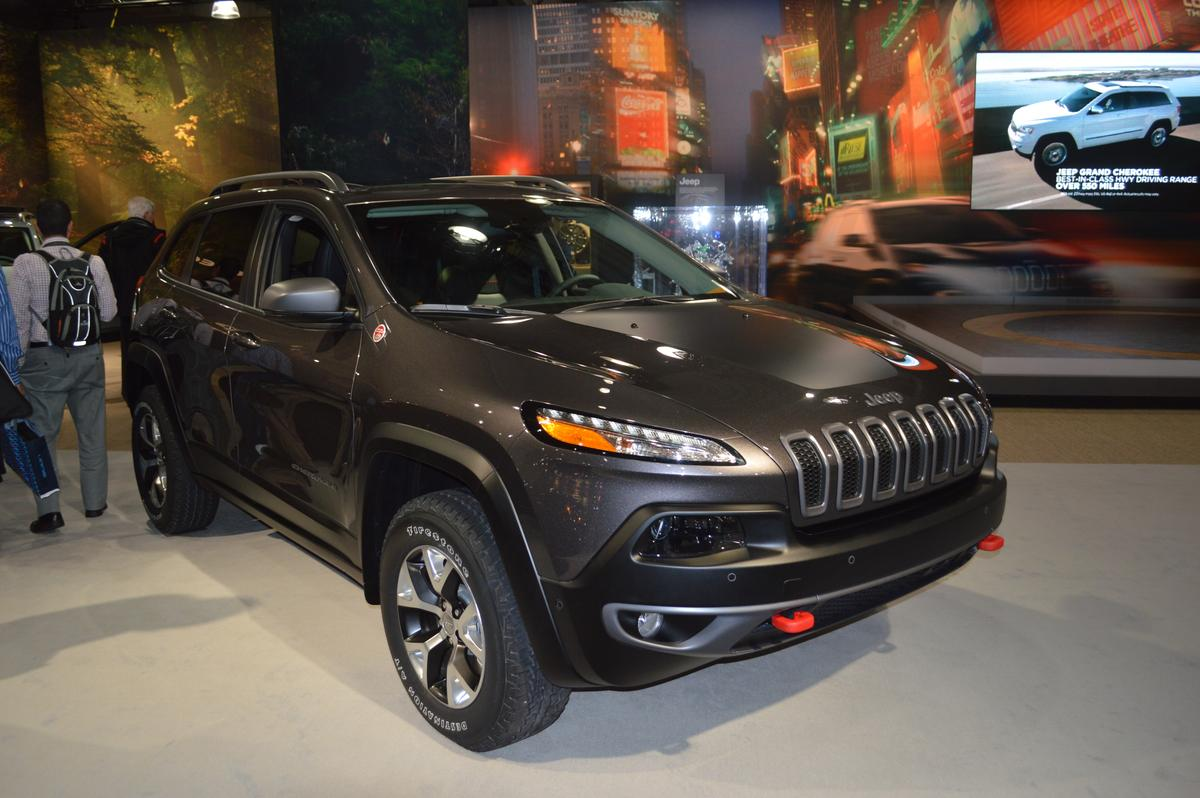 The 2014 Jeep Cherokee debuts at the New York auto show