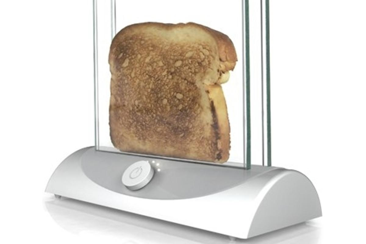 The transparent toaster concept from Inventables