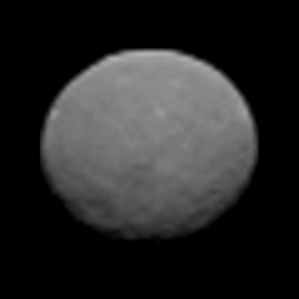 An early image of Ceres snapped by Dawn on Jan. 25, 2015 as the spacecraft made its approach