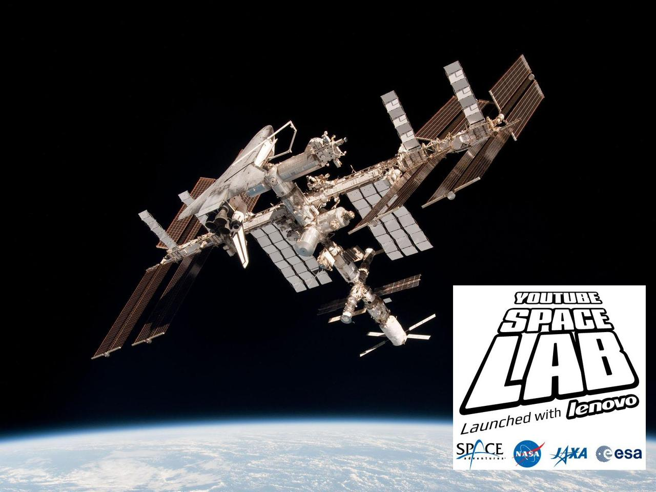 YouTube and Lenovo have launched a global student challenge to design an experiment which can be performed in space, with the winning entries going on to be performed by astronauts aboard the International Space Station (Photo: NASA/Google)