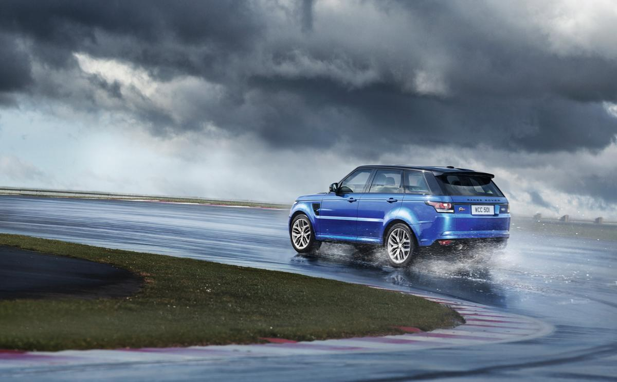 The 2015 Range Rover Sport SVR did the Nordschleife circuit at the Nürburgring in eight minutes and 14 seconds