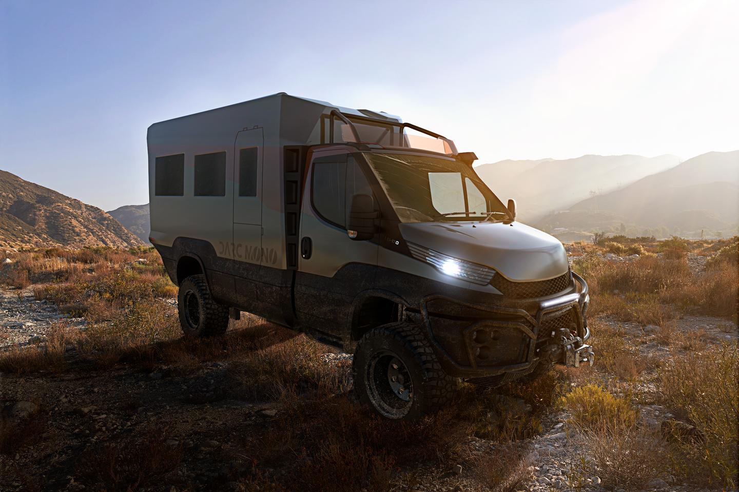 Darc beefs up the Iveco Daily 4x4 and drops on its custom motorhome module