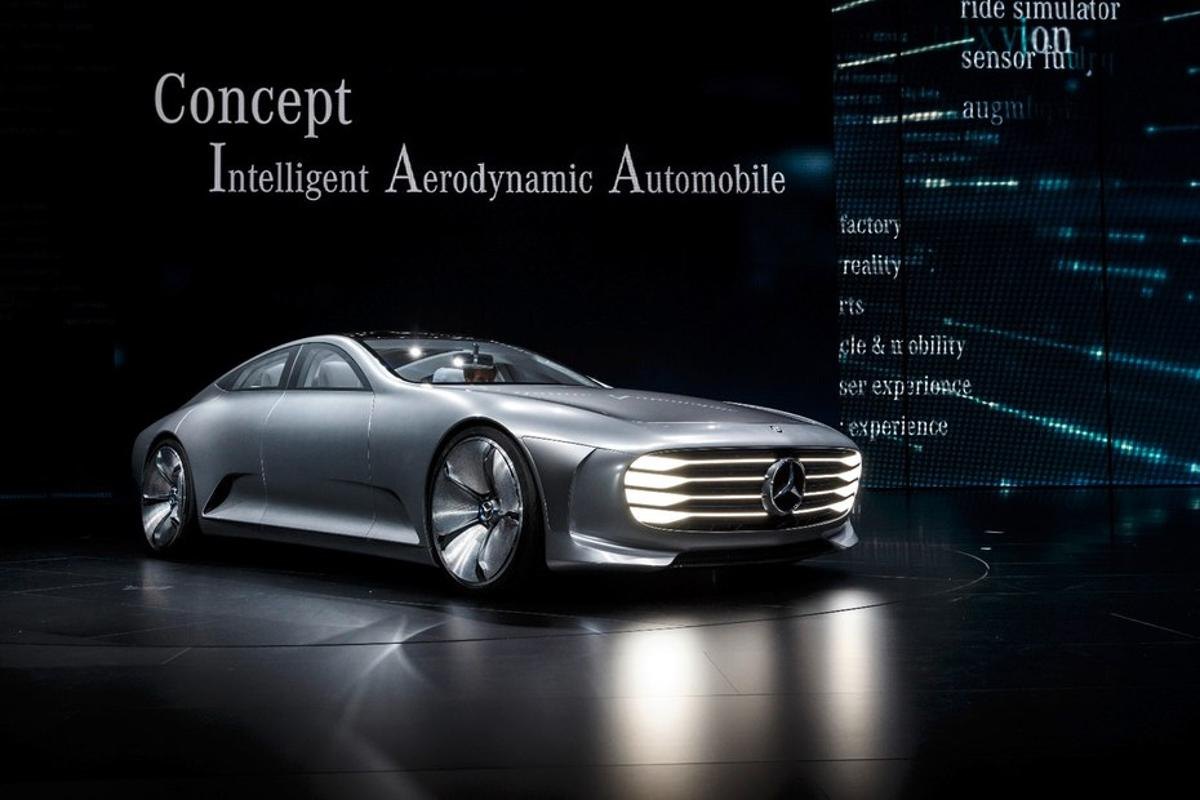 Mercedes Intelligent Aerodynamic Automobile was among the cream of the concept car crop during 2015