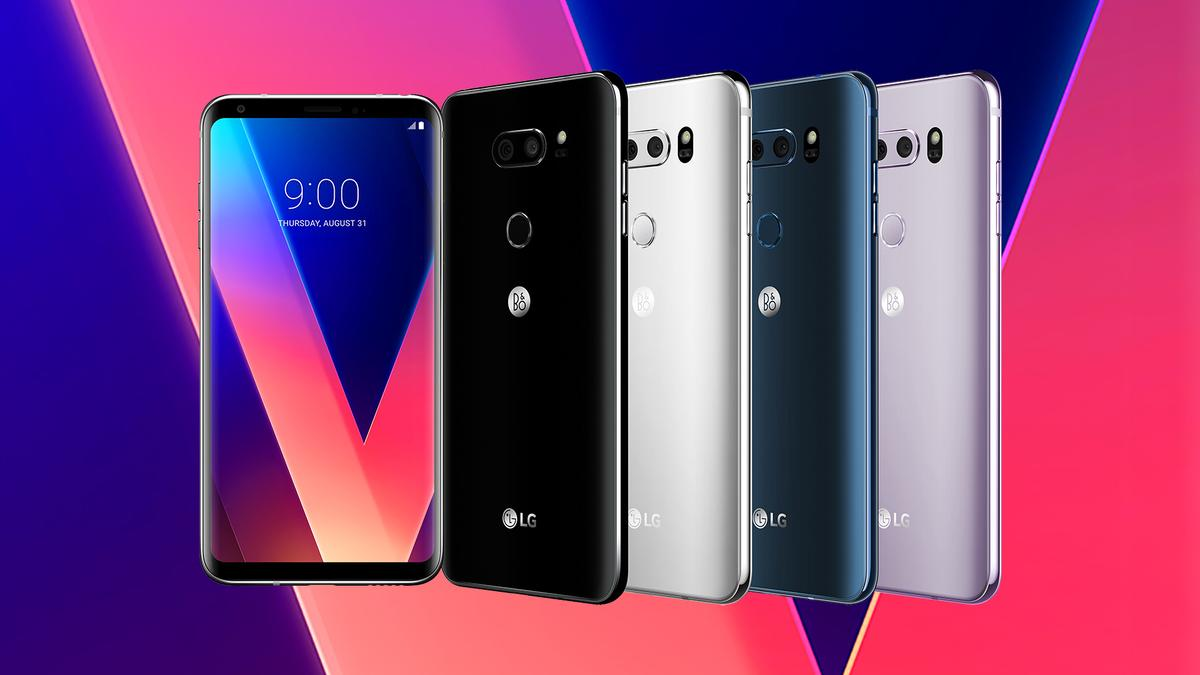 The LGV30 is here– LG's second flagship of the year